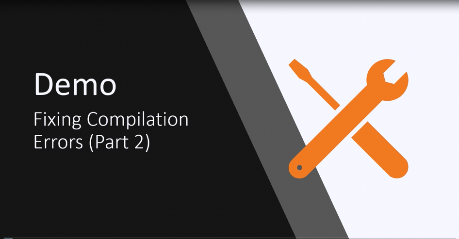 DevExpress WPF视频教程:将WPF应用程序迁移到.NET Core 3(part 4)——修复编译错误