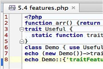 PHP集成开发环境PhpStorm快速入门指南(十一):触控条支持与Linux本机菜单