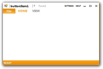 用户界面控件套包DotNetBar for WinForms中的Metro UI入门教程(上)