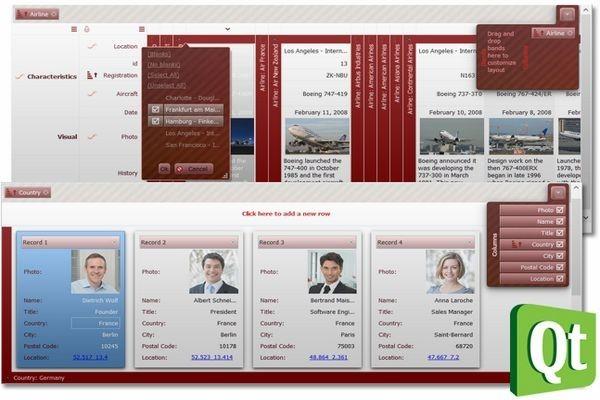 QtitanDataGrid 6.3.0 for Qt-Creator (Mingw 64bit)试用版下载