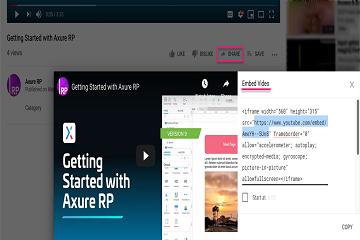 原型设计工具Axure RP新手教程(六):嵌入媒体教程-YouTube视频