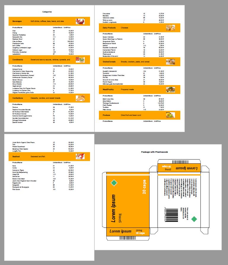 如何将多个报表导出到一个PDF文件中