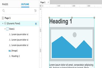 原型设计工具Axure RP新手教程(九):滚动区域教程