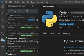 条码读取控件Dynamsoft Barcode Reader,如何在Docker容器中运行和调试Python条码应用