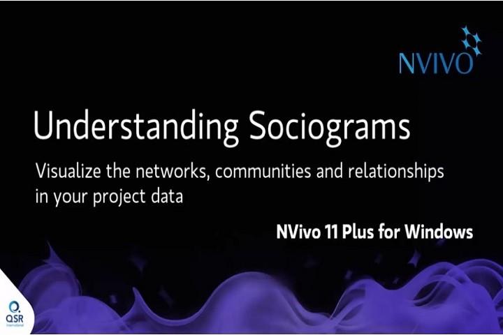 NVivo 11 Windows视频(五):社会图