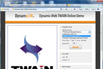 Dynamic Web TWAIN常见问题(四):编程问题-没有用户界面怎么工作?
