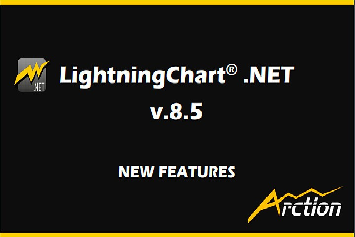 高性能图表控件LightningChart.NET最新版本v8.5.1发布,SDK可用性和功能性改进