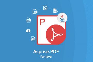 Aspose.PDF for Java v20.1试用下载