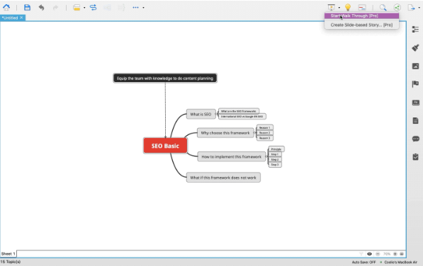 提高课堂教学效率!3分钟学会使用思维导图XMind创建演示PPT