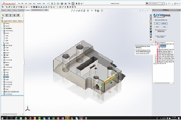 DFMXpress应用—基于SolidWorks零件可制造性分析模块