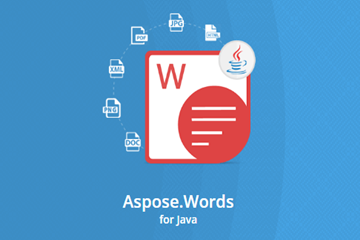 Aspose.Words for Java v20.2试用下载