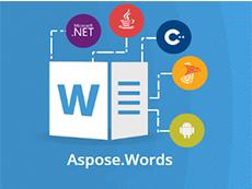 Aspose.Words for C++ v20.2试用下载