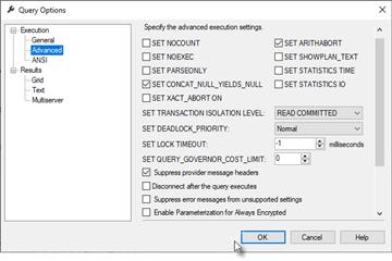 SQL Prompt使用教程:更改过程或触发器中的SET选项将导致重新编译(下)