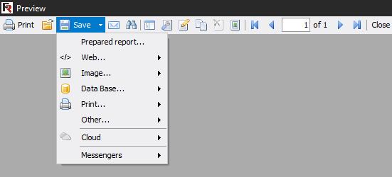 查看FastReport.Net报表时如何从菜单中禁用打印报表和其他项目