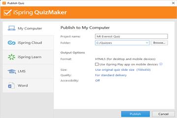 远程教学测试不再难,使用iSpring QuizMaker如何为在线测试创建热点问题!