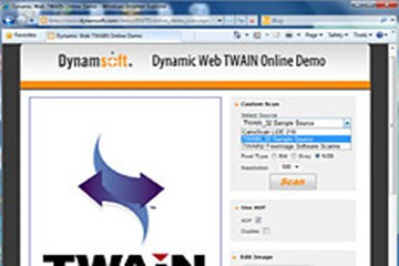 Dynamic Web TWAIN v15.3.1(Windows)试用下载