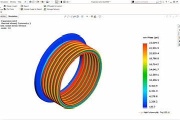 (四)SOLIDWORKS Simulation入门-夹具和荷载