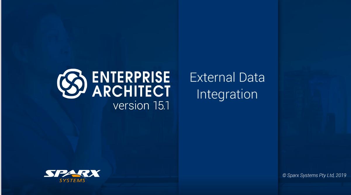 Enterprise Architect视频教程:企业架构师集成简介