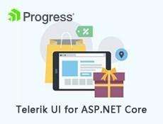 UI工具集Telerik UI for ASP.NET Core发布R1 2020 SP1|附下载