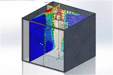 SOLIDWORKS操作视频|运用流体分析模拟空气流动效果,计算热传递