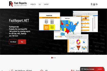 FastReport 官网改版升级—不止视觉上的体验优化