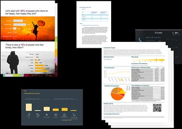 企业报告与发行
