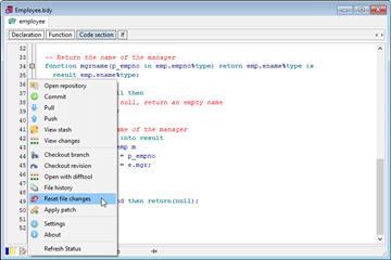 集成开发环境PL/SQL Developer v14.0 beta新功能(一):内置Git和Subversion版本控制支持