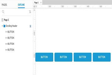 原型设计工具Axure RP入门教程(七):滚动激活的Sticky Header教程