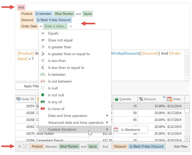 DevExpress Winforms使用技巧教程:掌握Filter Editor(三)