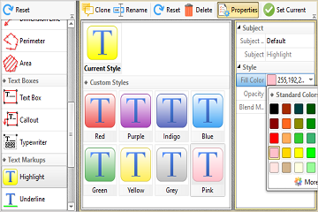 PDF-XChange Editor使用教程:如何保存和访问自定义工具样式?