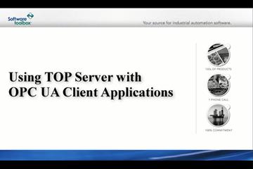 TOP Server OPC Server教程:将TOP Server与OPC UA客户端一起使用