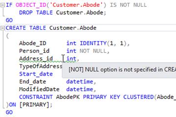 SQL语法提示工具SQL Prompt使用教程:为什么应该始终指定列是否接受空值