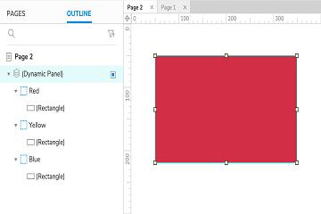 原型设计工具Axure RP入门教程(八):在下一页教程中设置动态面板状态