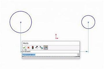 绘制圆弧和圆时使用SOLIDWORKS的智能尺寸工具
