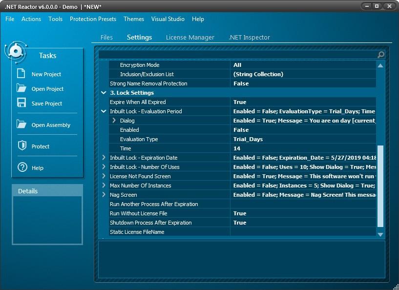 .NET Reactor预览:设置过程3