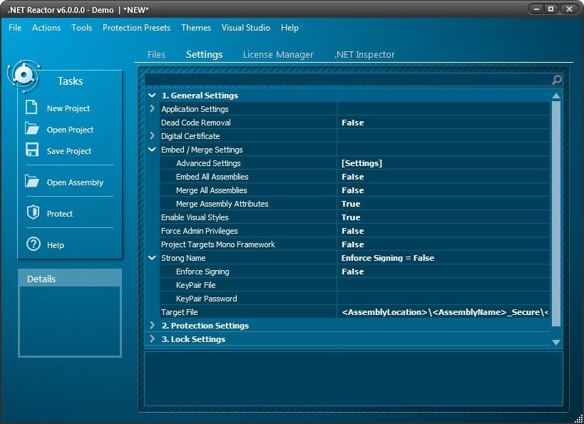 .NET Reactor预览:设置过程1