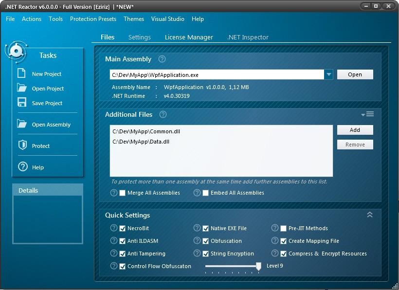 .NET Reactor预览:加密exe文件
