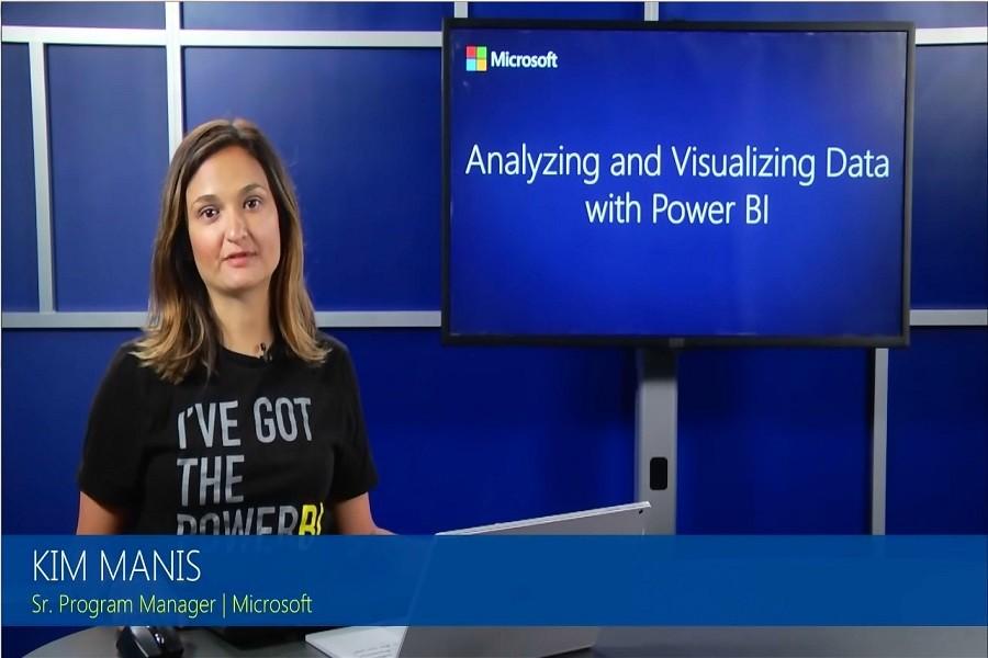 交互式报表Power BI视频教程:地图可视化(3-5)