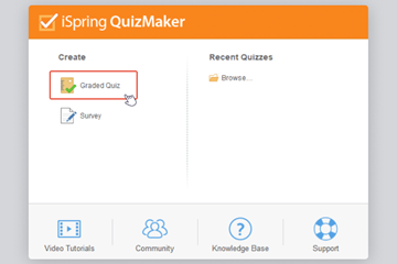 iSpring QuizMaker使用教程:如何创建多项选择测验