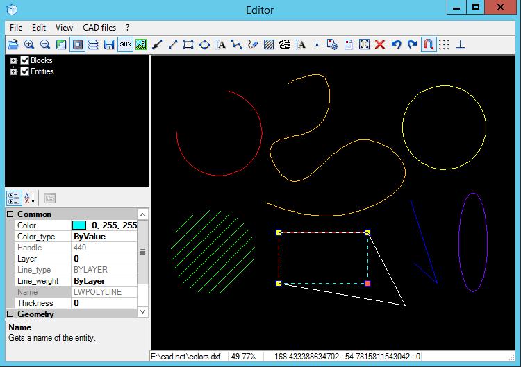 想要快捷轻巧的转换矢量图形?CAD .NET基础操作示例演示来啦!