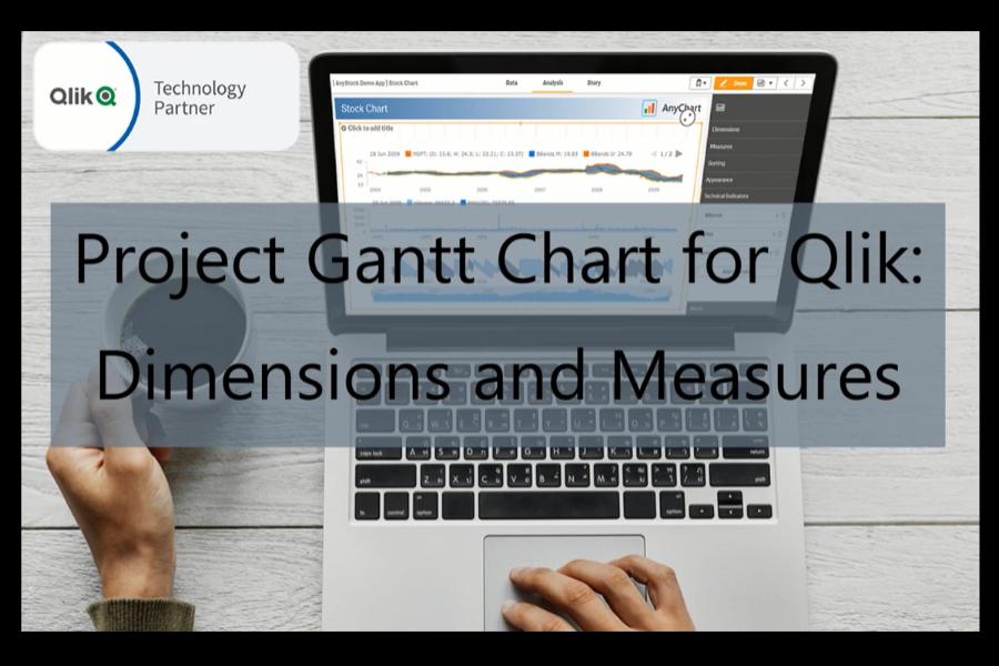 如何使用AnyGantt扩展添加维度和度量以创建Project Gantt图表
