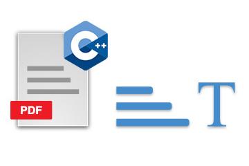 C++版PDF处理控件Aspose.PDF功能演示:使用C ++以编程方式从PDF文档中提取文本