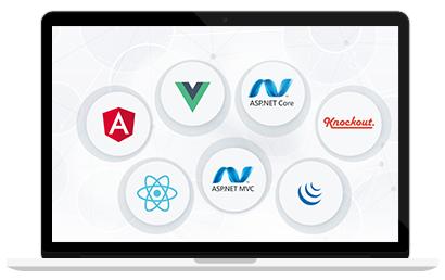 VS跨平台开发框架DevExtreme使用教程:在XAF应用中使用DevExtreme Widgets
