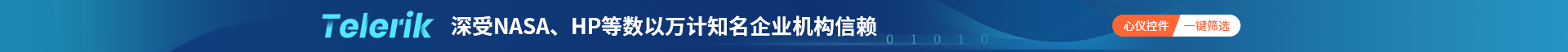 Kendo UI/Telerik全栈开发组件推荐,轻松构建交互式现代UI应用