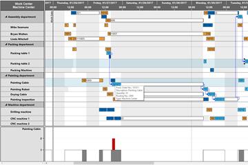 如何使用甘特图实现大型项目管理应用?