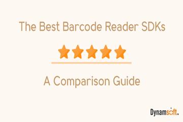 最好的条形码阅读器SDK是什么?Dynamsoft、Accusoft对比评估!