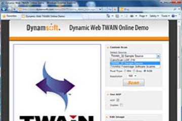 还在找在线扫描文档并上传为图像的扫描工具?Dynamic Web TWAIN满足您的需求!
