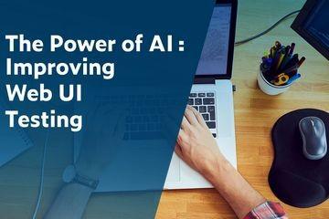 Parasoft结合人工智能的力量:改进Web UI测试