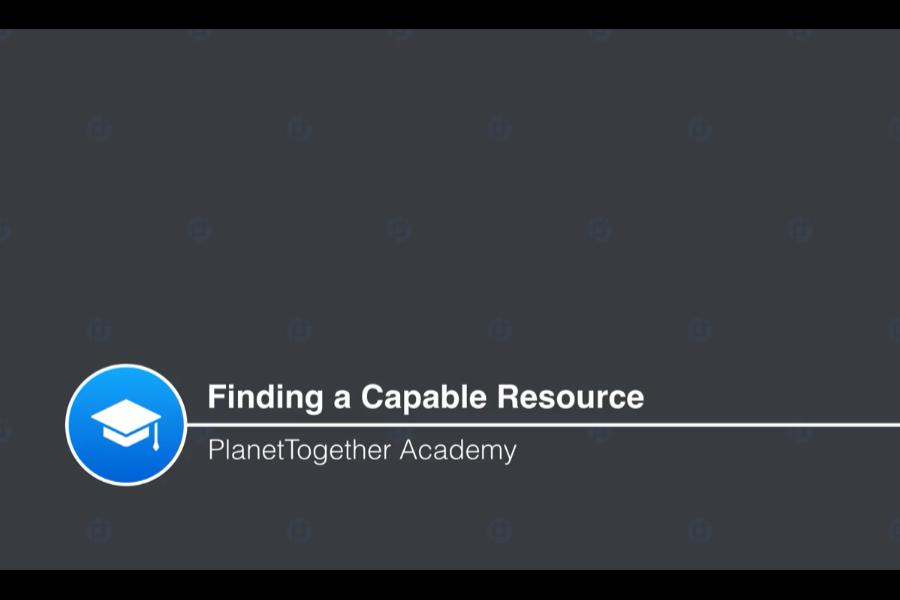 PlanetTogether 视频教程:作业操作 - 寻找合适的资源