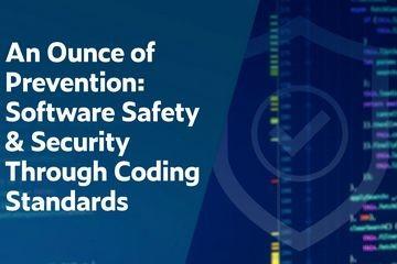 Parasoft 提醒你:预防重于补救!通过编码标准进行软件安全保护